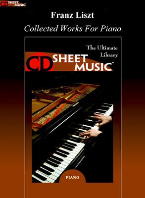 نت موسیقی: فرانتس لیست – مجموعه آثار برای پیانو