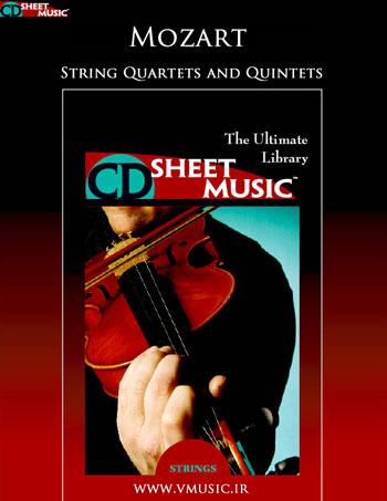 نت موسیقی: کوارتت ها و کوئینتت های زهی موتسارت