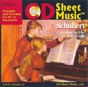 نت موسیقی آثار کامل پیانوی فرانتس شوبرت