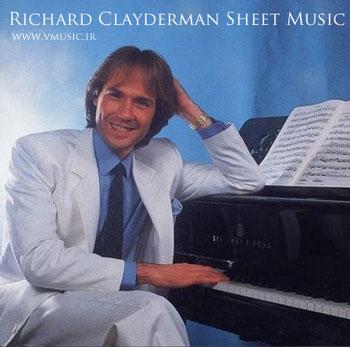 گزیده ای از نتهای موسیقی ریچارد کلایدرمن