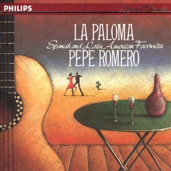 """گیتار کلاسیک زیبا و شنیدنی پهپه رومرو در آلبوم """" لا پالوما """""""