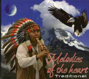 """فلوت زیبا ، دلنشین و مفرح بومیان آمریکا در آلبوم """" ملودی قلب – سنتی """""""