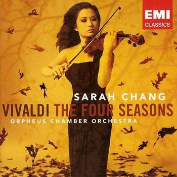 دانلود آلبوم چهار فصل ویوالدی با اجرای ویولن زیبای سارا چانگ
