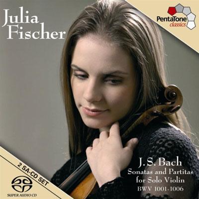 سونات ها و پارتیتاهای باخ برای تکنوازی ویولن با اجرای جولیا فیشر