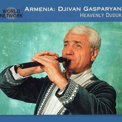 موسیقی فولکور فوق العاده زیبای ژیوان گاسپاریان در آلبوم « دودوک آسمانی »