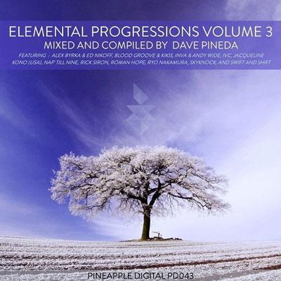 پروگرسیو هاوس های زیبا و ریتمیک در آلبوم Elemental Progressions Vol. 3