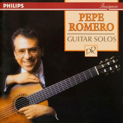 « تکنوازی گیتار » آلبوم گیتار کلاسیک زیبایی از پهپه رومرو