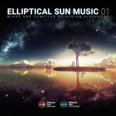 « Elliptical Sun Music 01 » آلبوم موسیقی الکترونیک پرانرژی میکس و گرد آوری از آدریان الکساندر