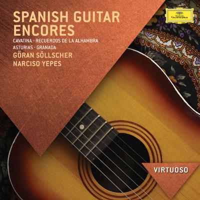 Spanish Guitar Encores ، اجراهای زیبای گیتار اسپانیایی از گوران سولچر و نارسیسو یپس