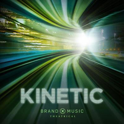 آلبوم موسیقی Kinetic اثری ارکسترال اکشن و ماجراجویی از گروه Brand X Music