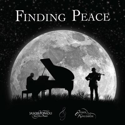 آلبوم Finding Peace در جست و جوی آرامش با هم نوایی پیانو و ویولن زیر نور مهتاب اثری از Jason Tonioli