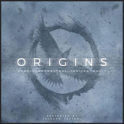 آلبوم Origins موسیقی تریلر هیبرید و ارکسترال از Jackdaw Factory