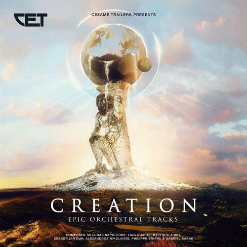 آلبوم Creation موسیقی تریلر حماسی و ارکسترال از Cezame Trailers