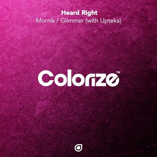 آهنگ الکترونیک ریتمیک و روحیه بخش Mornik اثری از Heard Right