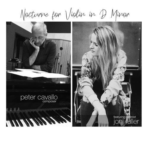 موسیقی کلاسیکال غم آلود و آرامش بخش Nocturne for Violin in D Minor اثری از Peter Cavallo