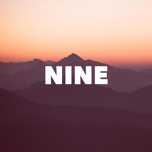 آلبوم Nine موسیقی بی کلام پاپ روحیه بخش از Morninglightmusic