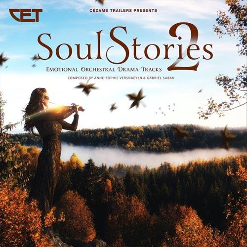 آلبوم Soul Stories 2 موسیقی حماسی ارکسترال درام از Anne-Sophie Versnaeyen