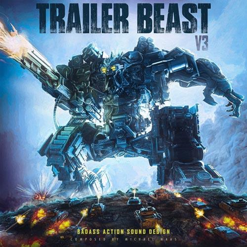 آلبوم Trailer Beast Vol. 3 موسیقی تریلر اکشن علمی تخیلی از Elbroar Trailer Music