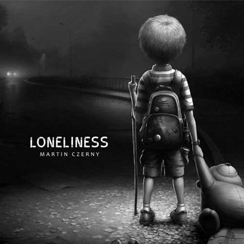 موسیقی پیانو آرام و حزن آلود Loneliness اثری از Martin Czerny