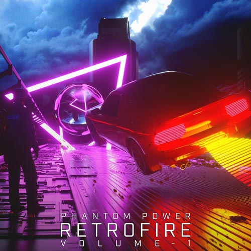 آلبوم Retrofire موسیقی تریلر هیجان انگیز و اکشن اثری از Phantom Power