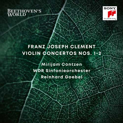 آلبوم Beethovens World – Clement Violin Concertos Nos. 1 & 2 کنسرتو ویولن اثری از Reinhard Goebel