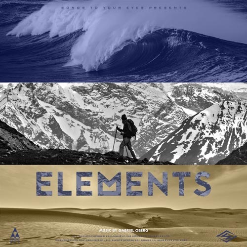 آلبوم Elements (Nature Inspired Underscore) موسیقی الهام بخش با پس زمینه صدای طبیعت