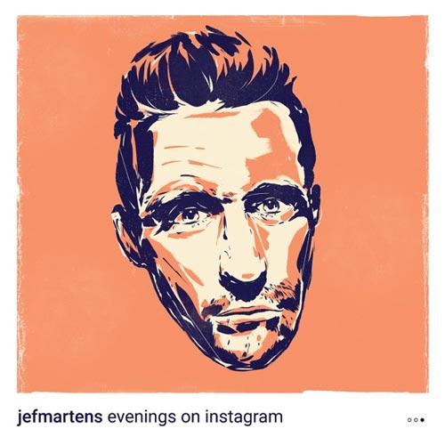 آلبوم Evenings on Instagram Pt. III تکنوازی پیانو آرام و دلنشین از Jef Martens