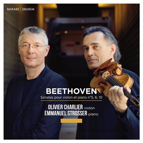 آلبوم Beethoven Sonates pour violon et piano سونات های بتهوون برای ویولن و پیانو اثری از Olivier Charlier