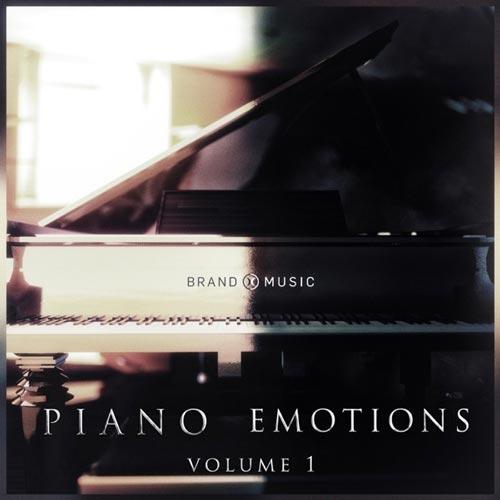 آلبوم Piano Emotions Vol. 1 موسیقی احساسی و درام از Brand X Music