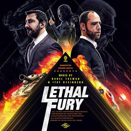 آلبوم Lethal Fury موسیقی تریلر الکترو هیپ هاپ هایبرید از Demented Sound Mafia