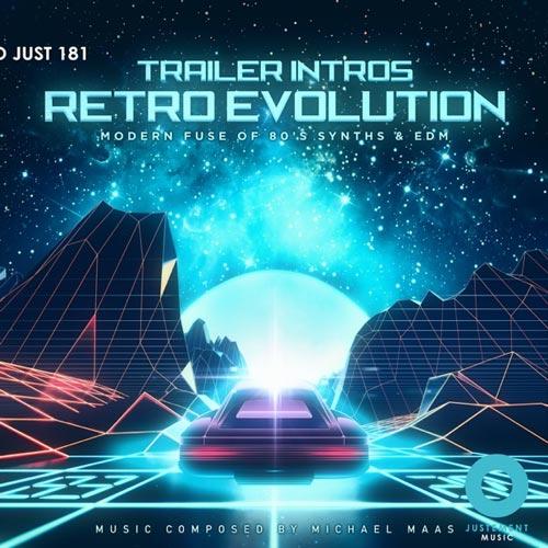آلبوم Trailer Intros Retro Evolution موسیقی تریلر الکترونیک قدرتمند از Michael Maas