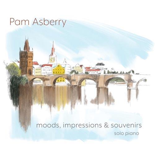 آلبوم تکنوازی پیانو Moods, Impressions & Souvenirs اثری از Pam Asberry