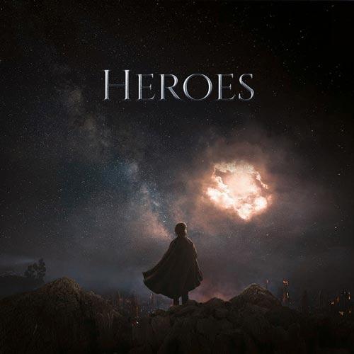 آلبوم موسیقی تریلر Heroes اثری از Secession Studios