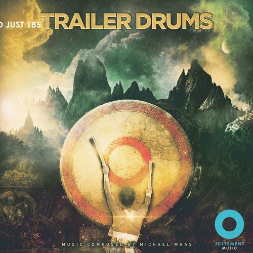 آلبوم موسیقی تریلر Trailer Drums اثری از Michael Maas