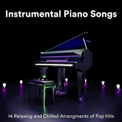 آهنگ های بی کلام پیانو : تنظیم آرام بخش 14 موسیقی پاپ برای پیانو