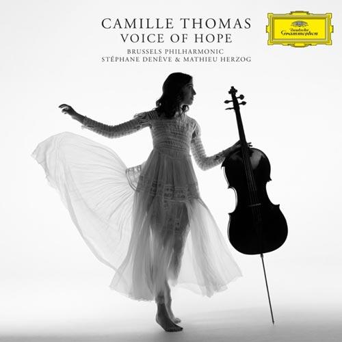 ویولنسل احساسی و زیبای Camille Thomas در آلبوم Voice of Hope