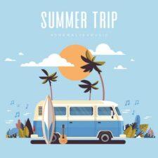 Summer Trip موسیقی پس زمینه برای سفر اثری از AShamaluevMusic