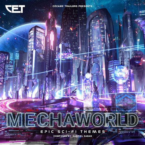 موسیقی تریلر Mechaworld اثری حماسی با تم علمی تخیلی از Gabriel Saban