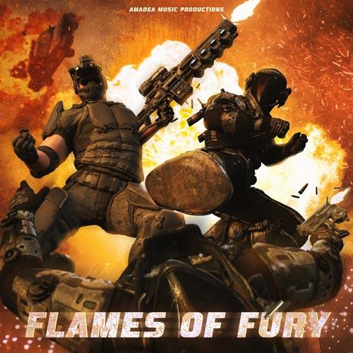 موسیقی تریلر راک ارکسترال Flames of Fury اثری از Amadea Music Productions