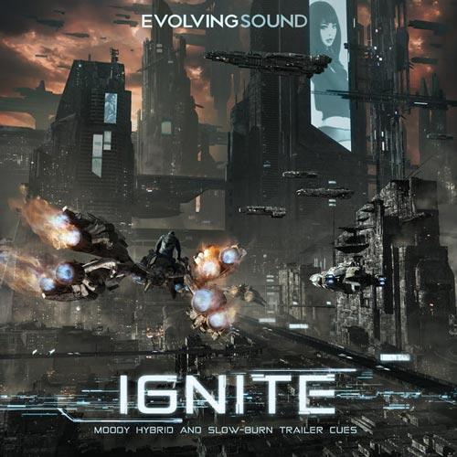 موسیقی تریلر هیبرید Ignite اثری از Evolving Sound
