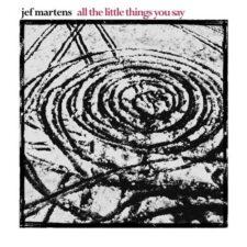 پیانو آرام بخش All The Little Things You Say اثری از Jef Martens