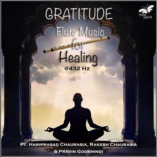 موسیقی بی کلام Gratitude فلوت التیامبخش اثری از Rakesh Chaurasia