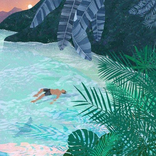 موسیقی الکترونیک Lagoon اثری ملودیک و انرژی بخش از Attom
