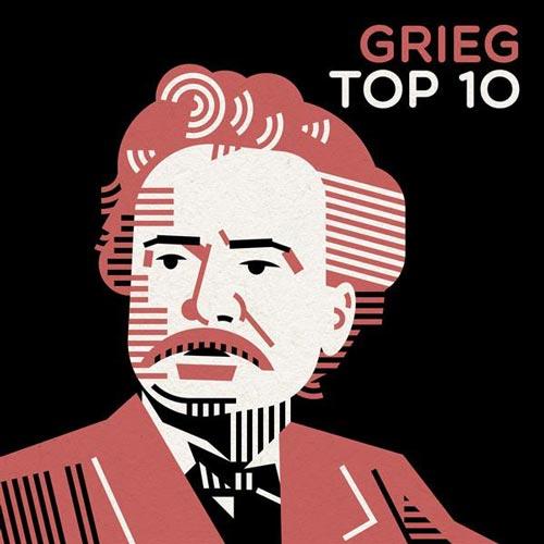 آلبوم موسیقی کلاسیک Grieg Top 10 برترین آثار ادوارد گریگ