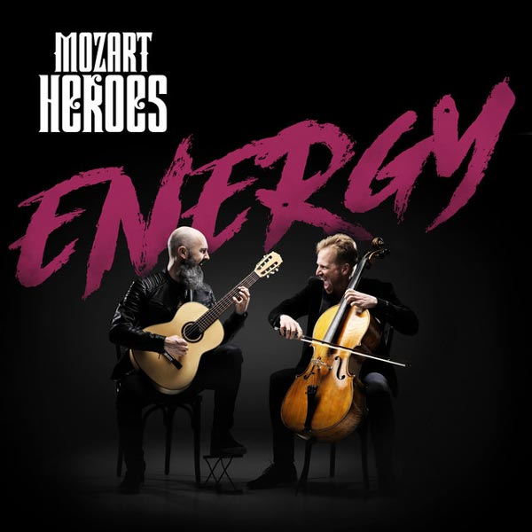 انرژی ، آلبوم زیبای ویولنسل و گیتار از گروه موتزارت هیروز