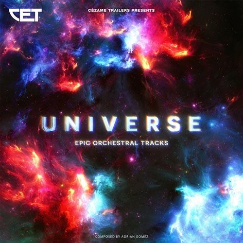 کائنات ، موسیقی تریلر حماسی ارکسترال اثری از آدریان گومز