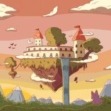 قلعه شناور ، موسیقی لو فای آرامش بخش و خیال انگیز از بی کالم