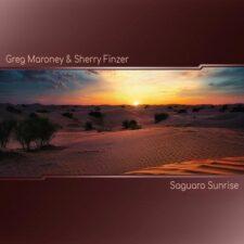 طلوع خورشید ساگوارو ، موسیقی پیانو و فلوت آرامش بخش از گرگ مارونی و شری فینزر