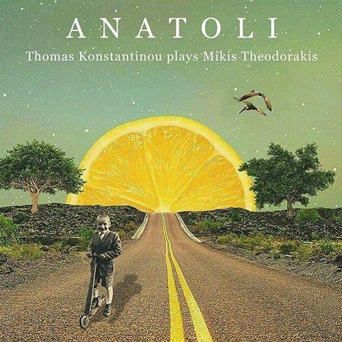 آناتولی ، موسیقی زیبا و دلنشینی مدیترانه ایی از توماس کنستانتینو