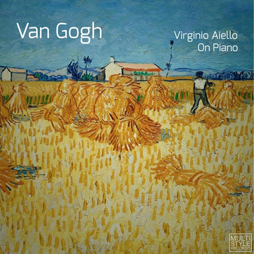 ون گوگ ، موسیقی پیانو آرامش بخش از ویرجینو آئیلو